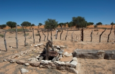 Botswana, Dec 13, 2011.  Vaalhoek.  A disused well. The border between South Africa and Bostwana follows the dry bed of the Molopo River for hundreds of kilometres. Greg Marinovich / Storytaxi